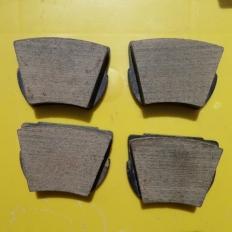Brake Disc Pads (Set of 4) Don Ref. 212FF BO
